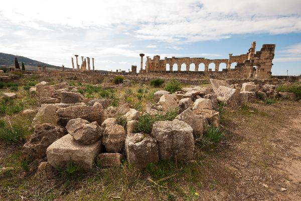 Volubilis on Morocco vacation