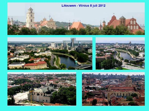 Vilnius view in Lithuania