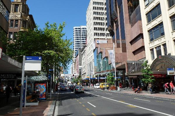 New Zealand - Queen street Auckland