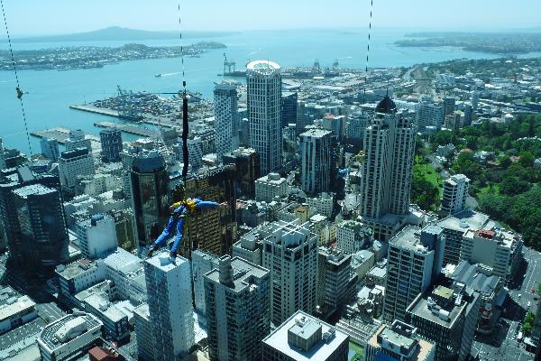 New Zealand - view from Sky Tower
